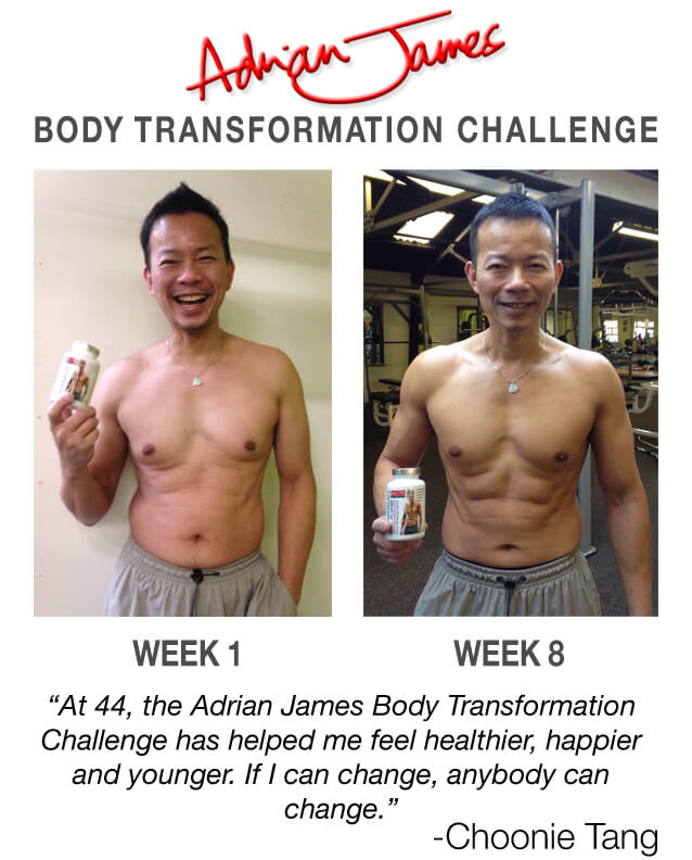 Choonie Tang Body Transformation Challenge
